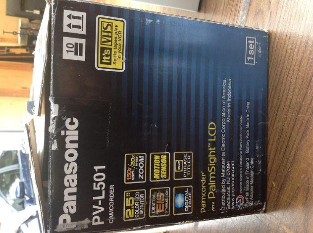 Panasonic PV-L501 VHS-C Camcorder