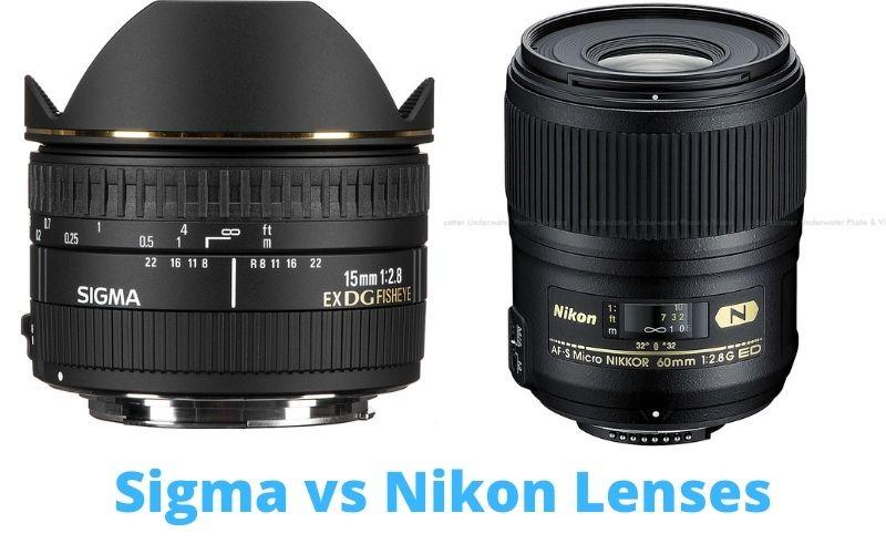 Sigma vs Nikon Lenses